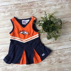 NFL Denver Broncos Baby Dress Size 18 Months